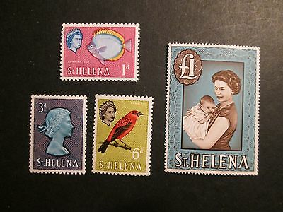 St Helena 1961 Definitive issues Lightly Mounted Mint