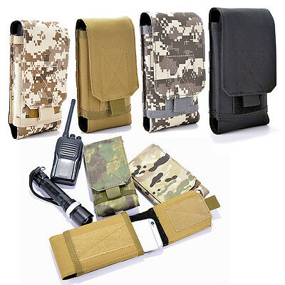 Outdoor Tactical Molle Waist Pack Fanny Phone Pouch Belt Bag Camping Hiking Bag
