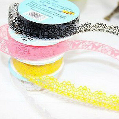 Decorative Tape Lace Sticker Stationary Scrapbook Ideas Self Adhesive Lovely