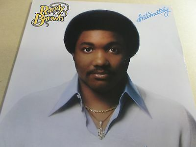 Randy Brown,intimately,lp On Parachute,rrlp 9012.1979 Stereo