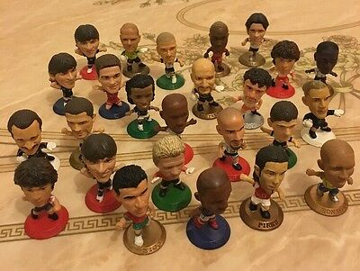 Large collection of football figures 25 Pics
