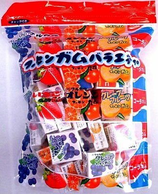 Marukawa Bubble Gum Variety Assort Grape Cola 4grain x 50pc in Bag MADE IN JAPAN