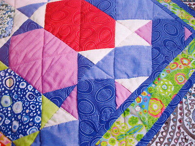Patchwork & Applique Quilt Kit   ' SHUTTLES'   KAFFE FASSET  49 in X 63 in