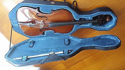 1/2 Cello, Stentor Student 1,  excellent condition, with bow, hard and soft case