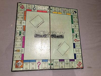 Early Original Vintage Waddingtons Monopoly Board Game