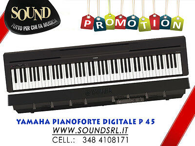 Yamaha P-45 - Pianoforte Digitale 88 Tasti