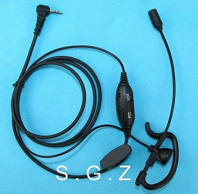 VOX Clip Ear Headset Earpiece Boom Mic For Unden Radio UH044SX/UH047SX/UH049SX