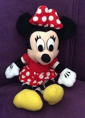 Minnie Mouse Soft Toy Excellent Condition