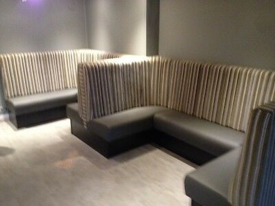 bespoke booth bench restaurant fixed seating