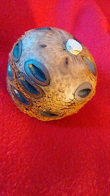 New Zealand Natural Wood ORNAMENT Smoothed top and bottom NATURAL WOOD