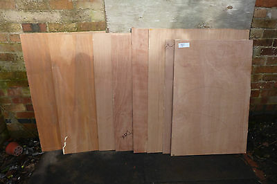 Job Lot of 8mm Thick Plywood.(98f)