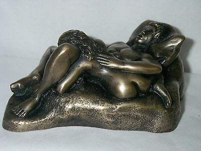 The Lovers Bronze Erotic Figurine