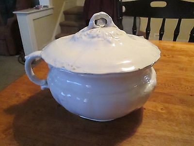 Vintage Ironstone JOHNSON BROTHERS Chamber Pot-PRICE WITH OR WITHOUT LID