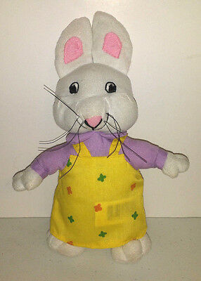 "Ty Nickelodeon Max and Ruby ""Ruby"" 9 inch stuffed animal plush toy no hang tags"
