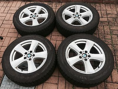 BMW X5 E70 18 Inch Wheels With Tyres Vredestein Wintrac 4 Extreme 8mm