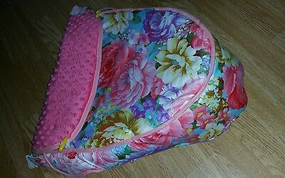iCandy apron for seat unit floral peach jogger raspberry cherry apple pear