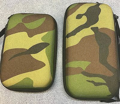 Hard Shell Camo Case For Power Bank Small Or Large Carp Fishing Tackle New