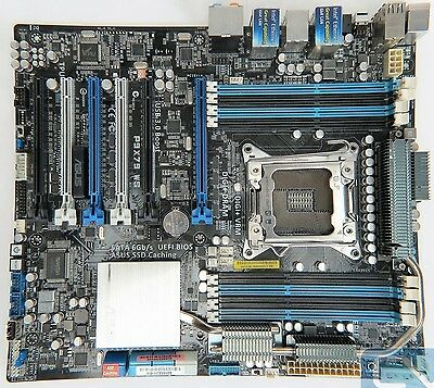 ASUS P9X79 WS LGA 2011 Motherboard & i7-3930K 3.20GHz - 3.80GHz Processor COMBO