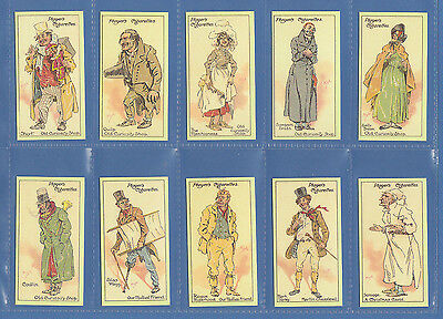 Dickens - Set Of 25 Player's ' Dickens  Characters  2Nd ' Cards - Reprints