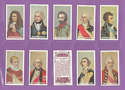 People  -  Builders  Of  The  British  Empire  -  Set  Of  50  Cards