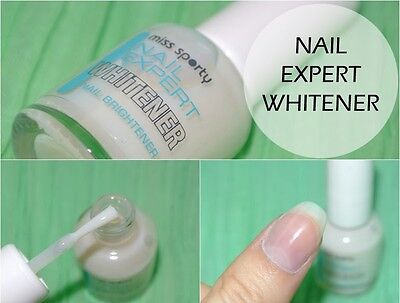 Miss Sporty Nail Expert Whitener Nail Brightener Quick & Amazing Results 8 ml