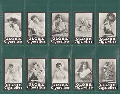 Nostalgia Classics - Set Of 25 - The Globe Cigarette Co  ' Actresses - French '