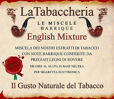La Tabaccheria - English Mixture - Aroma Concentrato