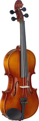 3/4 Maple Violin with standard-shaped soft-case
