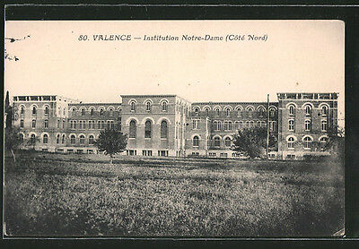 splendide CPA Valence, Institution Notre-Dame, Cote Nord