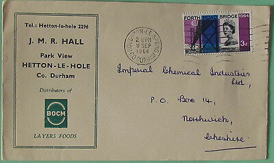GB Postage Stamps  Commerial Envelop with used stamp