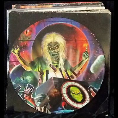 """Iron Maiden Out Of The Silent Planet Limited Edition 12"""" Picture Disc"""