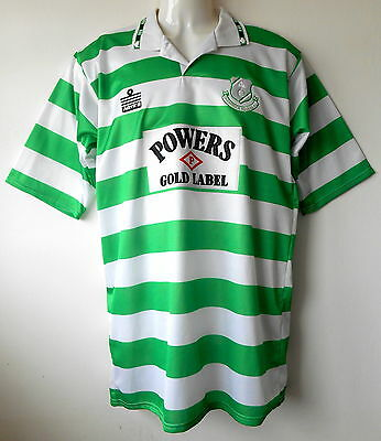 Shamrock Rovers Football Shirt 1992-93 Vintage Home Strip Authentic Mens M