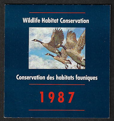 Canada Stamps  — 1987, Wildlife Habitat Conservation: Geese — Unitrade #FWH3 MNH