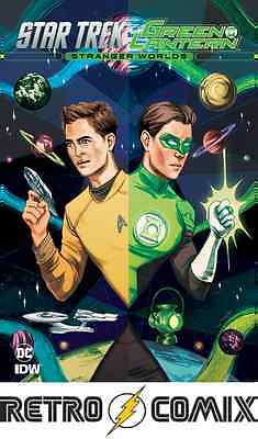 Idw Star Trek Green Lantern V2 #3 Subscription Cover New/unread Bagged & Boarded