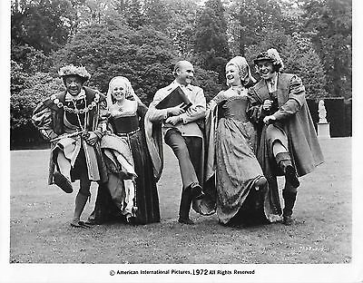 Carry On Henry Viii - Joan Sims - Rare 1972 American Black And White Movie Still