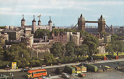 The Tower And Lower Bridge London