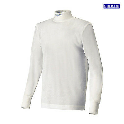 Sparco SOFT-TOUCH longsleeve t-shirt white (FIA) s. L