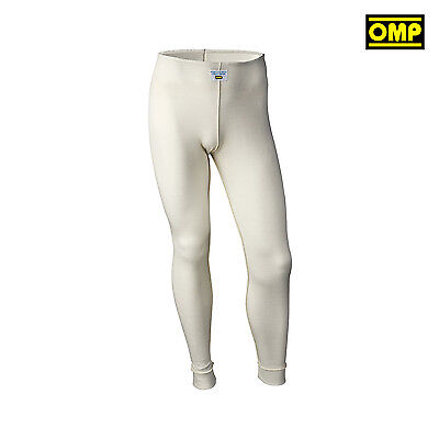 OMP FIRST underwear pants ecru (with FIA homologation) s. XL