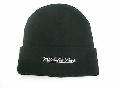 MITCHELL &  NESS Beanie Nets B black Größe one size