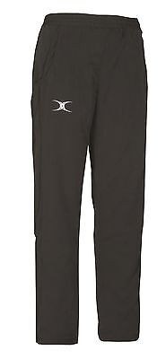 New Ex Display Gilbert Rugby Womens Synergie Trousers Black Size 12