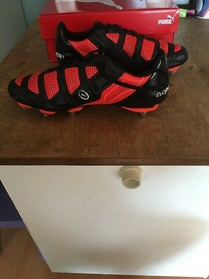 Bnwn Men's Puma Evopower Rugby Boots Size 10