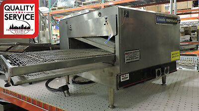 Used Lincoln Impinger 1301 Commercial Electric Countertop Conveyor Oven
