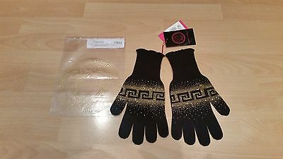 100% AUTHENTIC young Versace gloves size XL (women's S - M)