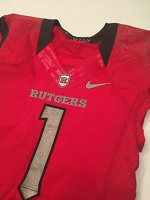 NIKE Rutgers Football Game Issued On Field Jersey 2015