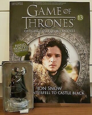 Game of Thrones Sammelfiguren Nr. 13 Jon Snow Eaglemoss engl.