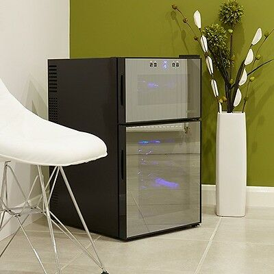 Husky HN7 'Reflections' Dual-Zone Wine Cooler