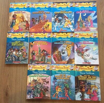 Fab Bundle Of 11 Thea Stilton Books, for ages 6-12yrs, new condition