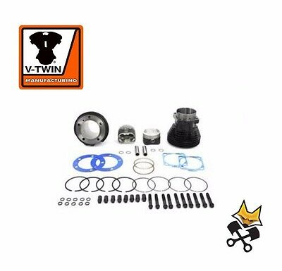 "3-5/8"" Big Bore 84"" Cylinder & Piston Kit For Harley 1966-'84 Shovelhead 11-0297"