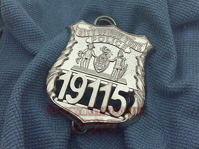 U.s. City Of New York Police 19115 Pin Metal Badge Props Collection-2146