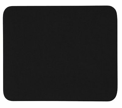 New Sealed Black Fabric Mouse Mat Pad High Quality 5mm FREE DELIVERY